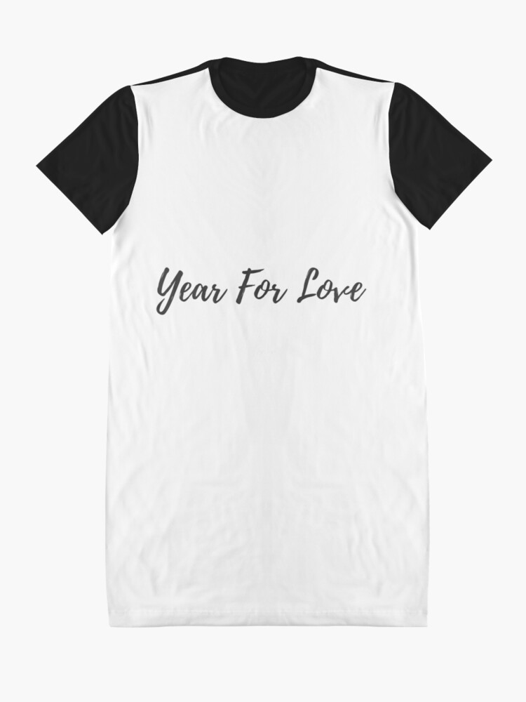 Alternate view of Year For Love  Graphic T-Shirt Dress