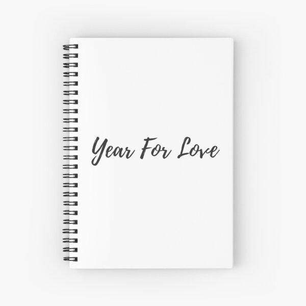 Year For Love  Spiral Notebook