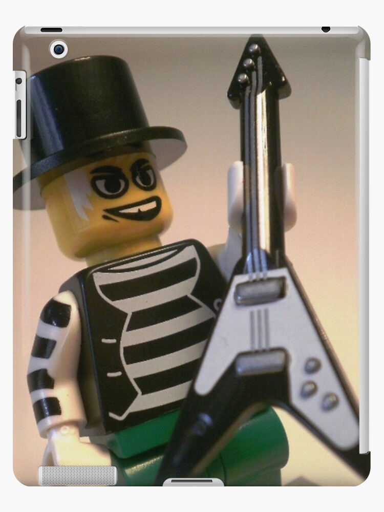Emo, Goth, Punk, Band Guitarist Custom Minifigure by Chillee