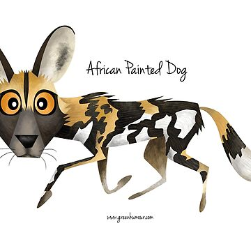 African Painted Dog by rohanchak