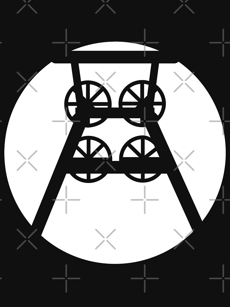 Ruhrpott colliery conveyor tower (w) by Pentamoby