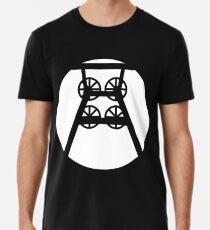 Ruhrpott colliery conveyor tower (w) Premium T-Shirt
