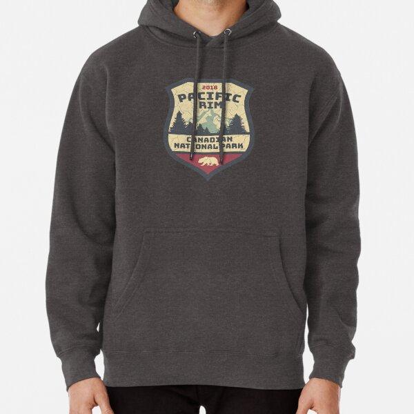 Vintage Canadian National Park Pacific Rim Souvenirs Pullover Hoodie