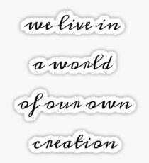 Pegatina Nuestro mundo