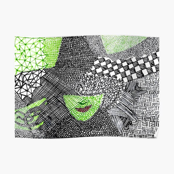 wicked - elphaba Poster
