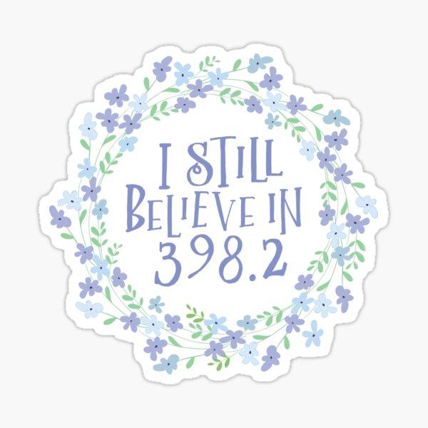 Dewey Decimal Believe in Fairytales Sticker