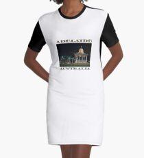 Illuminated Elegance (poster on white) Graphic T-Shirt Dress