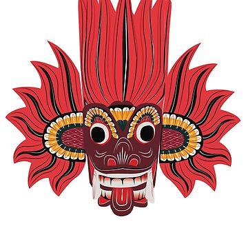 Devil's Mask Sri Lanka by ThreeCrowns