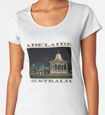 Illuminated Elegance (poster on white) Women's Premium T-Shirt