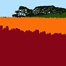 Hillside, Table Cape Tulip Farm. by Richard Klekociuk