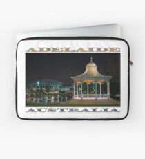Illuminated Elegance (poster on white) Laptop Sleeve