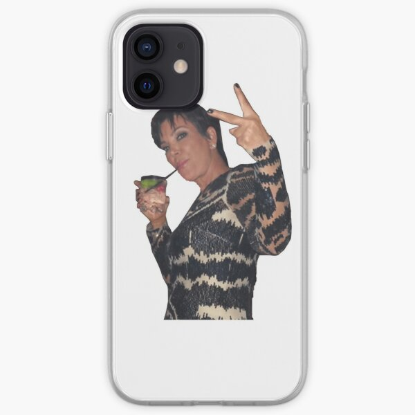 Kris Jenner Peace Sign iPhone Soft Case