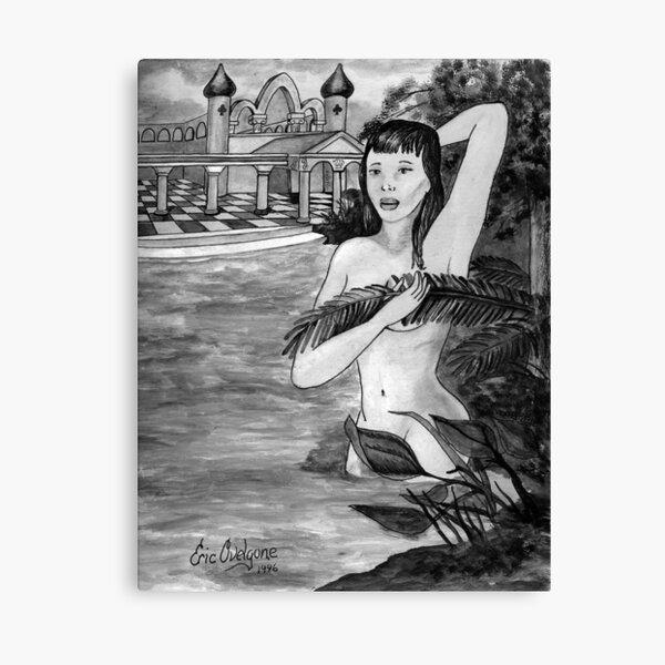 Bathing Venus Canvas Print