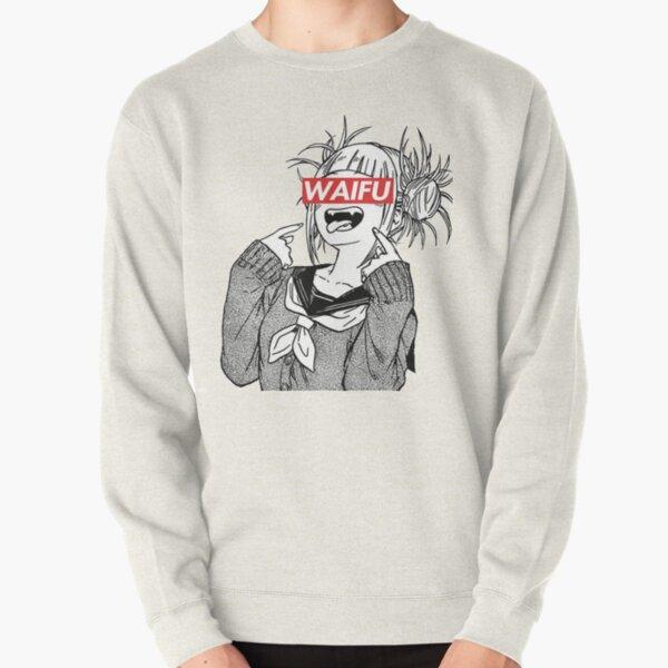 Himiko Toga Waifu Supreme Style Pullover Sweatshirt