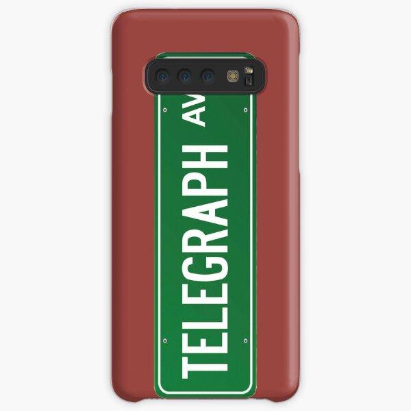 Telegraph Ave. Street Sign Samsung Galaxy Snap Case