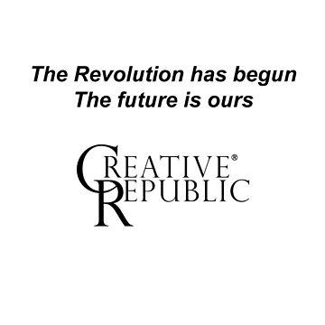 Revolution [A] Black Text by CreativRepublic