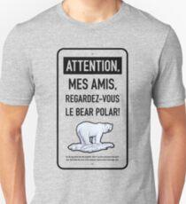 le bear polar sign/transparent Unisex T-Shirt