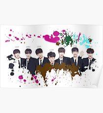 JBJ, Just Be joyful, Kpop, Superstars, Oppa Poster