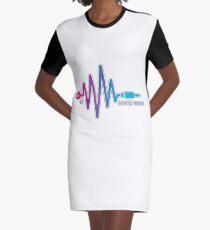 SOUND WAVE 2.0  Graphic T-Shirt Dress