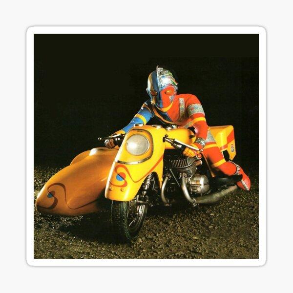 Kikaider.... not Ultraman... To the rescue ! Sticker