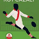 Roy Cazaly - South Melbourne by Chris Rees