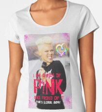 pink smile Women's Premium T-Shirt