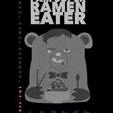 Super Ramen Eater by Beni-Shoga-Ink