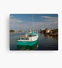 Evening In West Dover Canvas Print