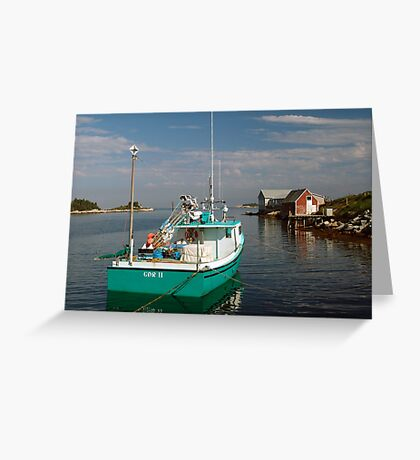 Evening In West Dover Greeting Card