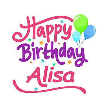 Happy Birthday Alisa by PM-Names