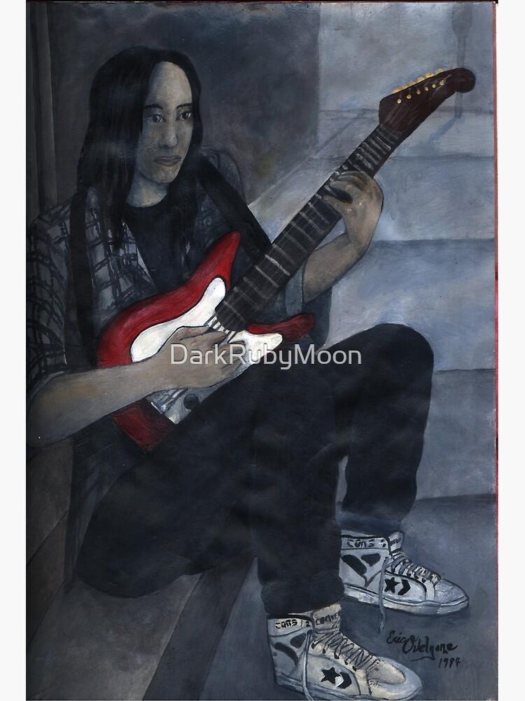 Red Guitar by DarkRubyMoon