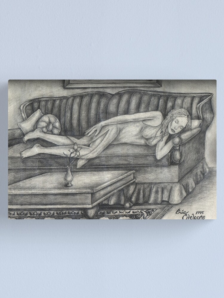 Alternate view of Sleeping Beauty  Canvas Print