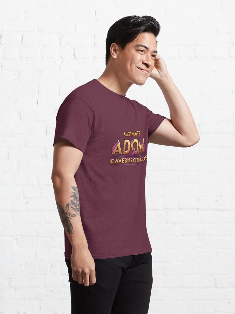 Alternate view of Ultimate ADOM - Big Logo Classic T-Shirt