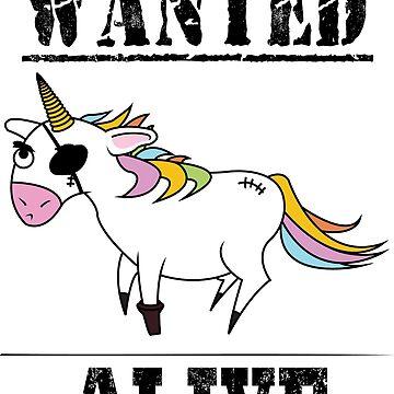 Wanted Unicorn by BCreative4U
