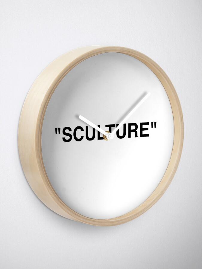 """Vista alternativa de Reloj """"SCULTURE"""" Off white x Ikea de Virgil Abloh"""