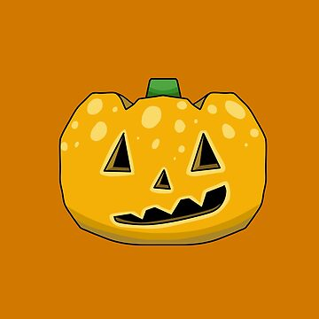 Animal Crossing Jack o Lantern - Yellow by DILLIGAFM8