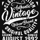 Vintage since august 1992 by NEDERSHIRT