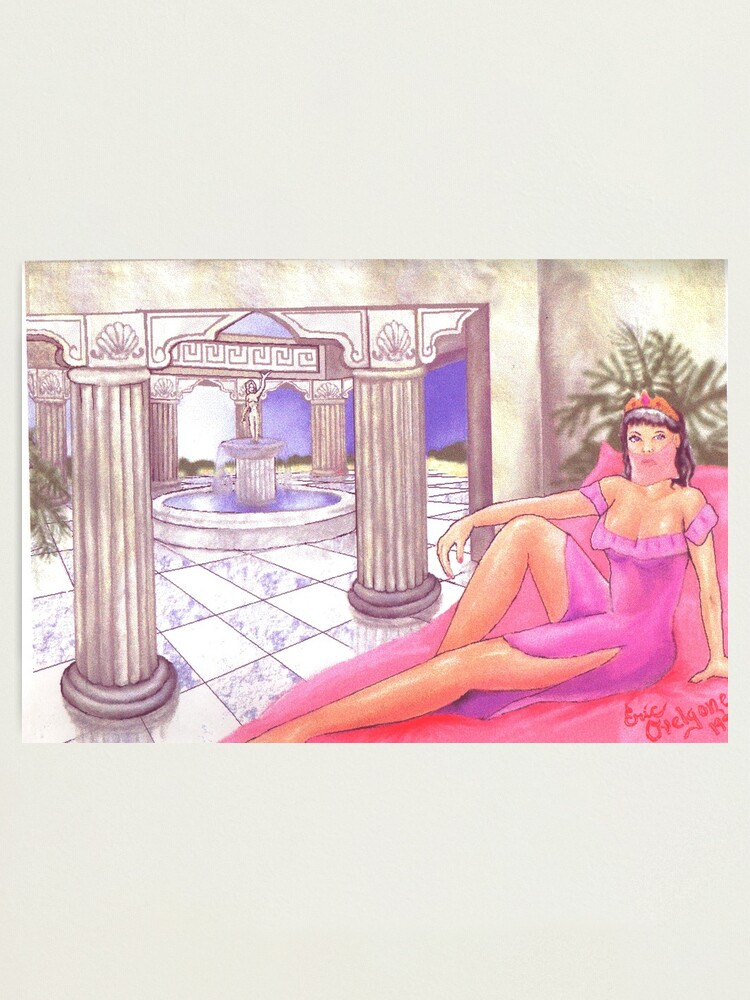 Alternate view of Aphrodite's Palace  Photographic Print