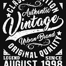 Vintage since august 1998 by NEDERSHIRT