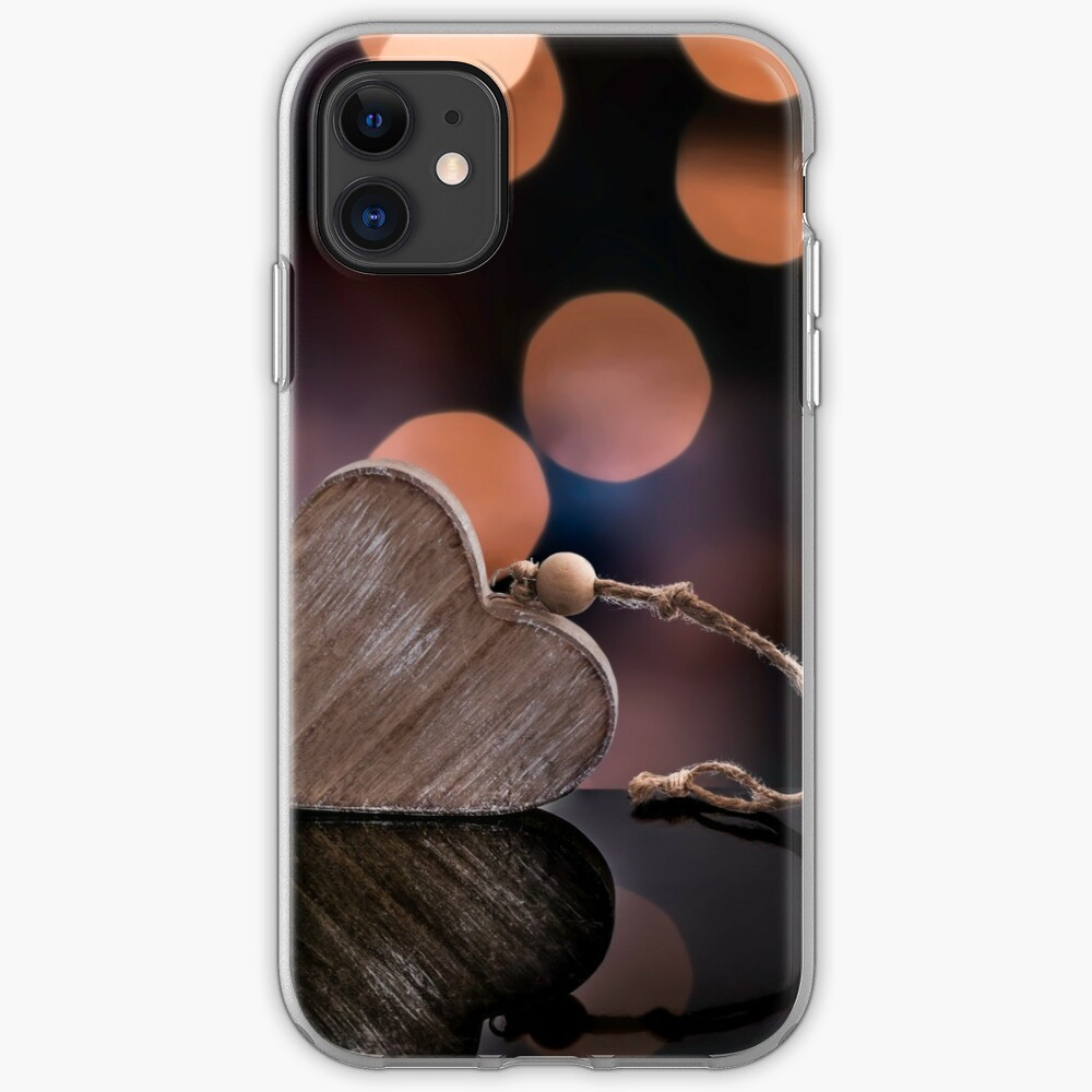 Love heart reflections  iPhone Case & Cover