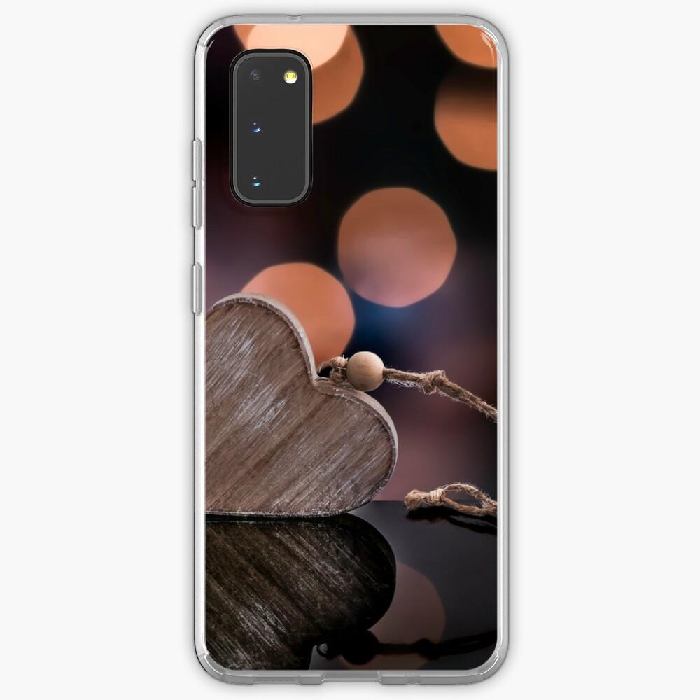 Love heart reflections  Case & Skin for Samsung Galaxy