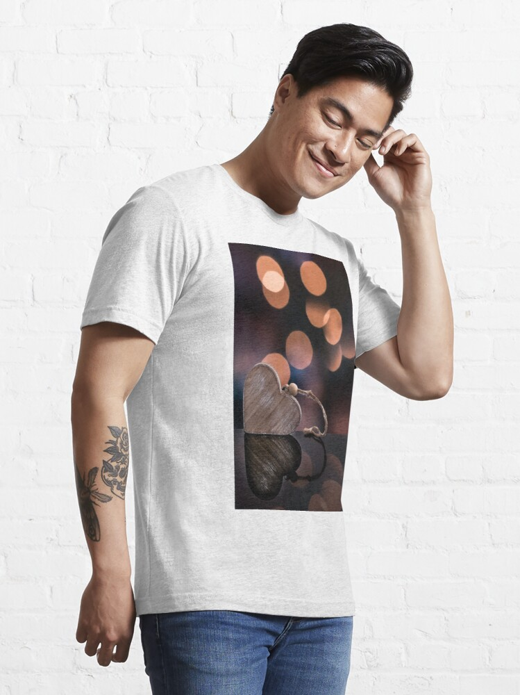 Alternate view of Love heart reflections  Essential T-Shirt
