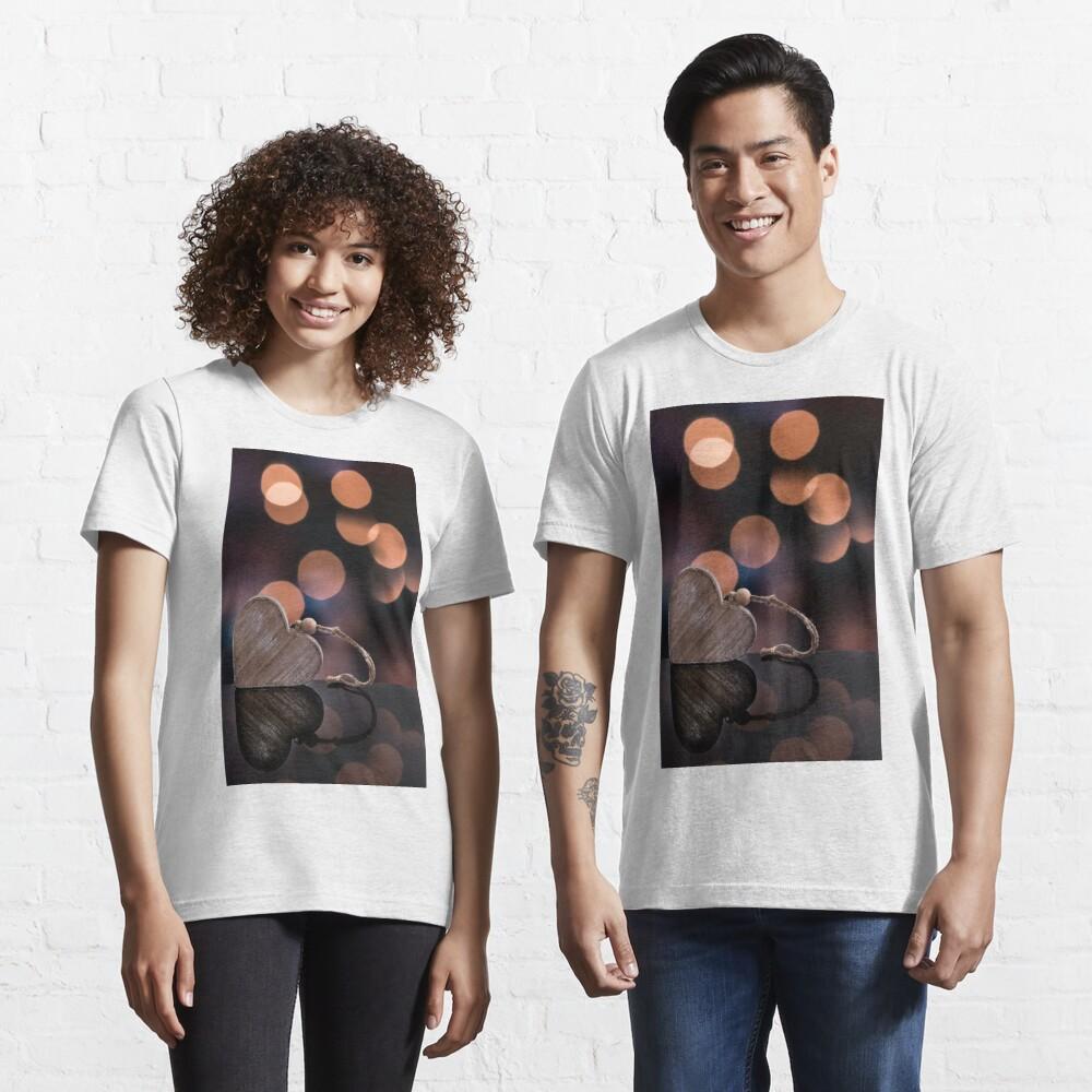 Love heart reflections  Essential T-Shirt