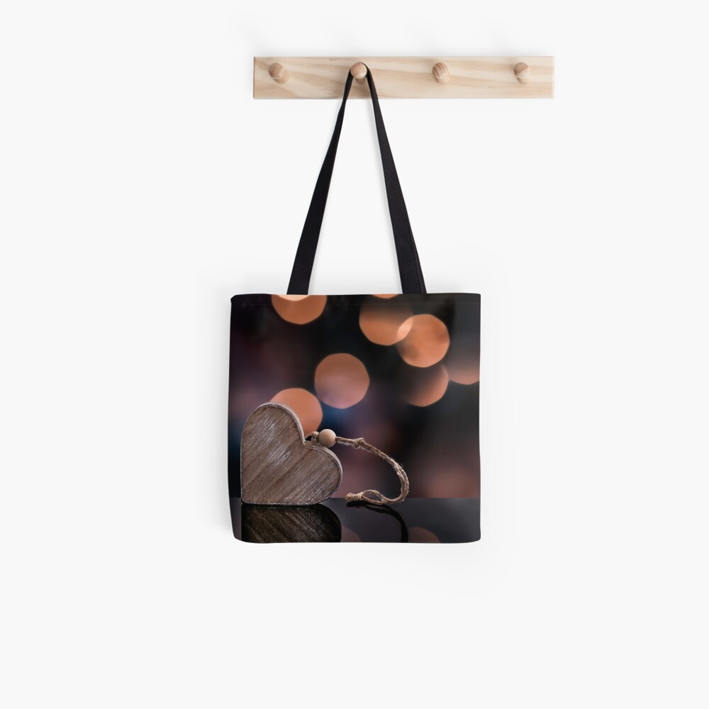 Love heart reflections  Tote Bag