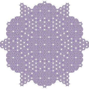 Bubble Flower Pattern by Girih