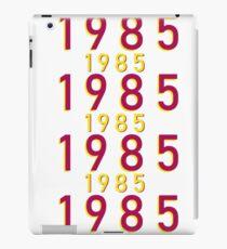 1985 Year design iPad Case/Skin