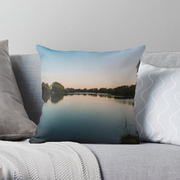 Quiet Reflections Throw Pillow