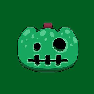 Animal Crossing Jack o Lantern - Green by DILLIGAFM8