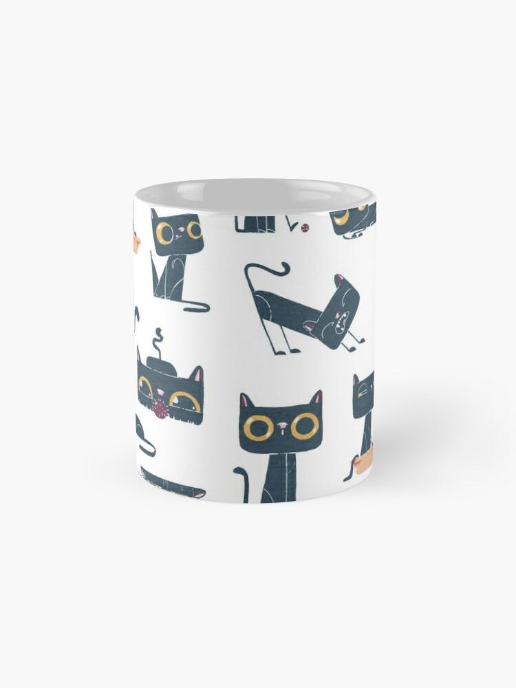 Alternate view of Crazy cat Mug