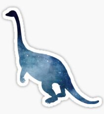 Dinosaur - Paleontosaurus - Silhouette Sticker